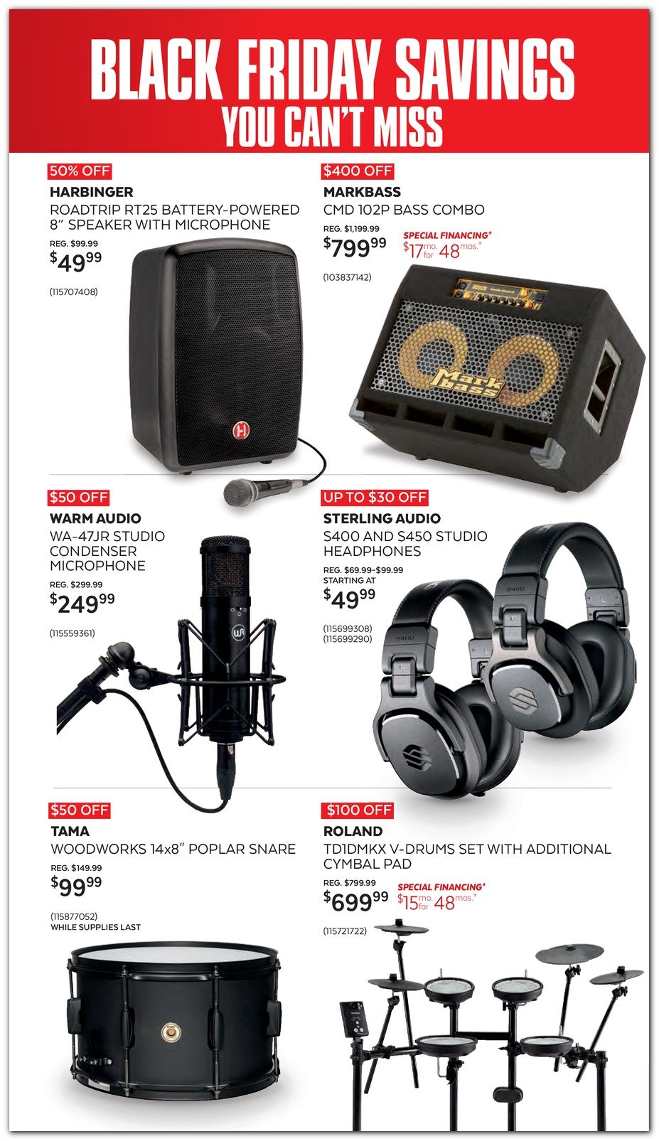 Guitar Center Black Friday 2019 Page 4
