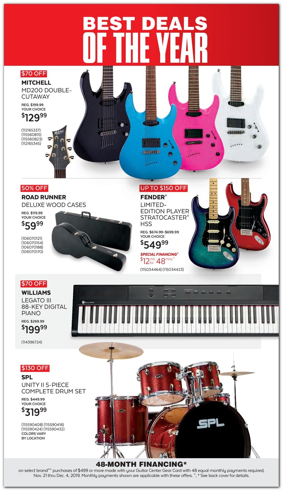 Guitar Center Black Friday 2019 Page 5
