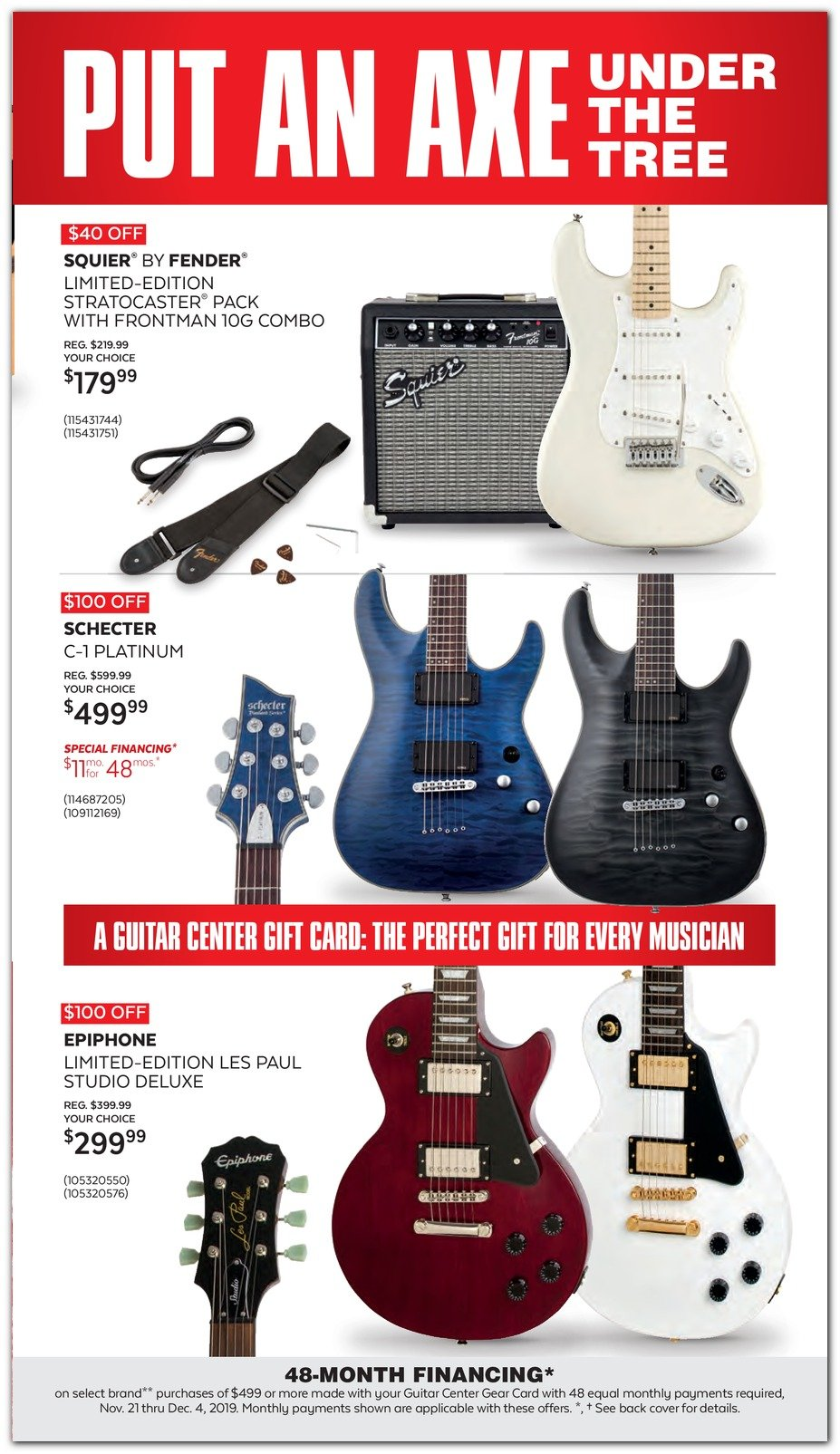 Guitar Center Black Friday 2019 Page 9