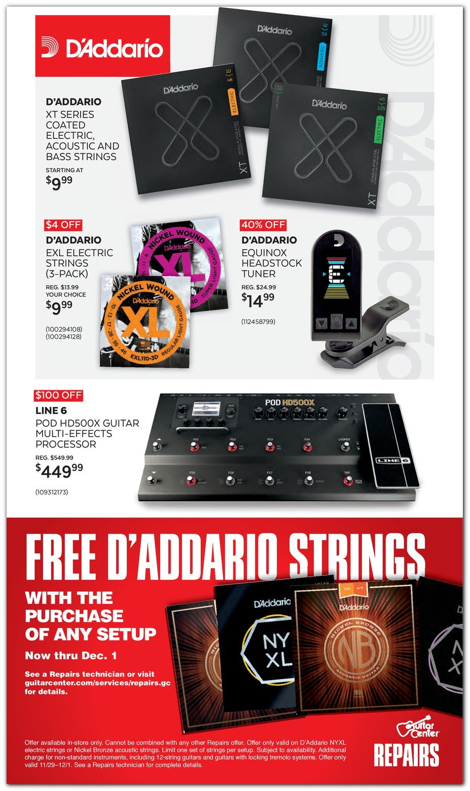 Guitar Center Black Friday 2019 Page 10