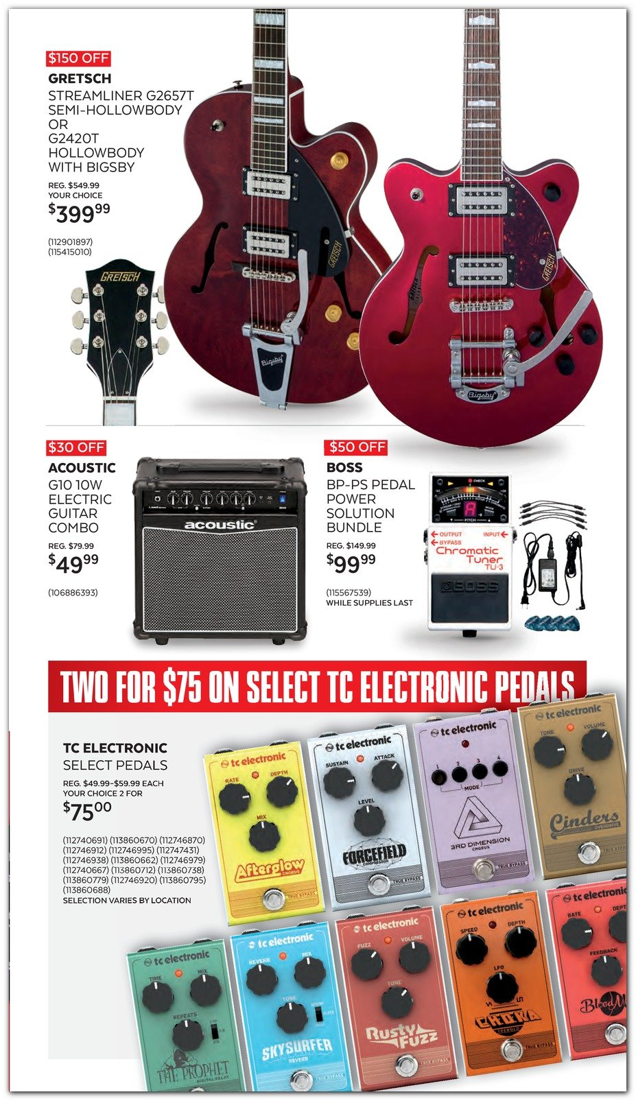 Guitar Center Black Friday 2019 Page 11