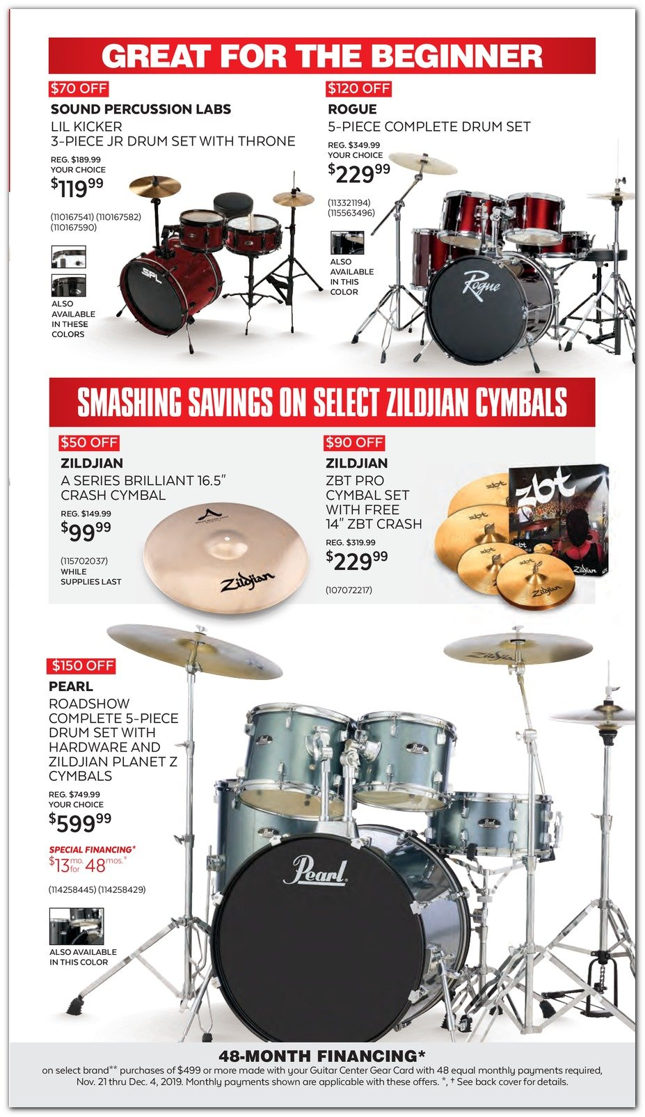 Guitar Center Black Friday 2019 Page 17