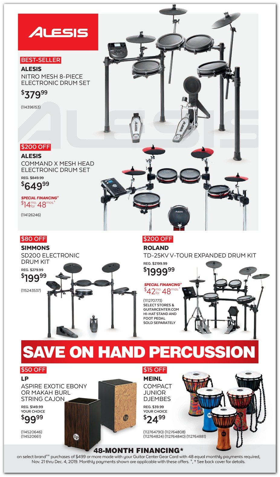 Guitar Center Black Friday 2019 Page 18