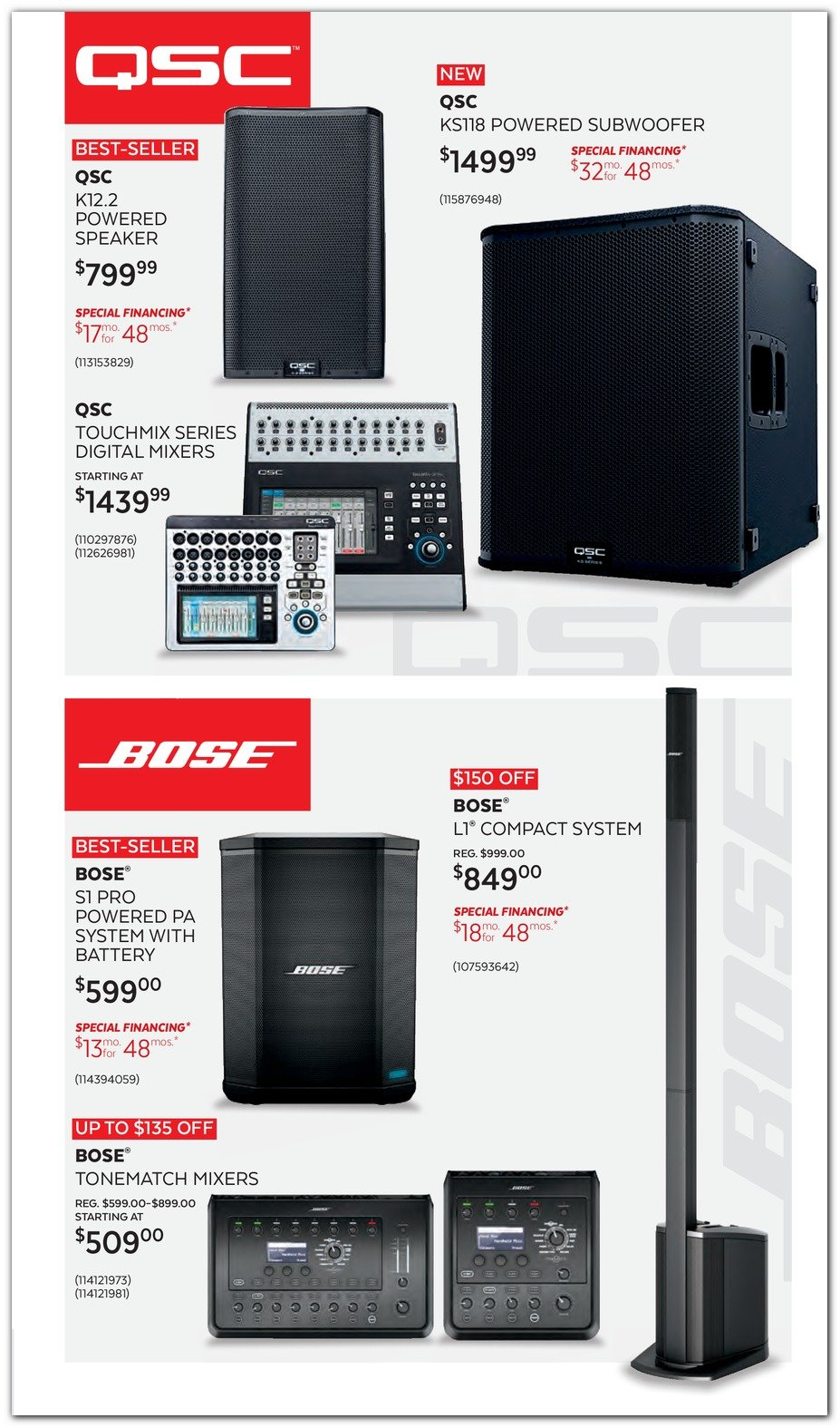 Guitar Center Black Friday 2019 Page 21