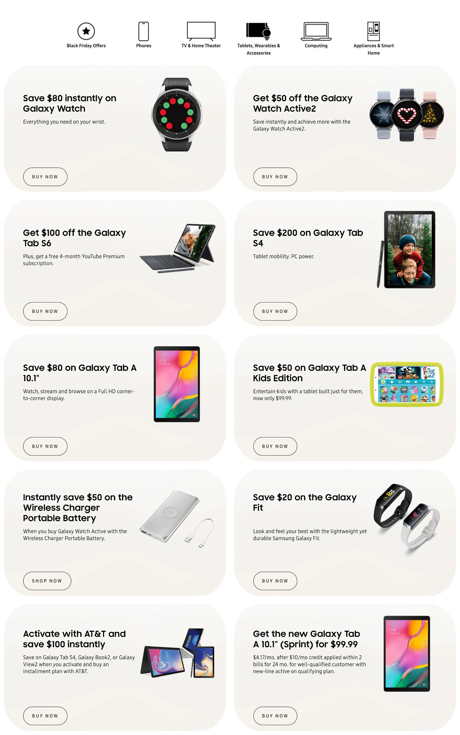 Samsung Black Friday 2019 Page 3