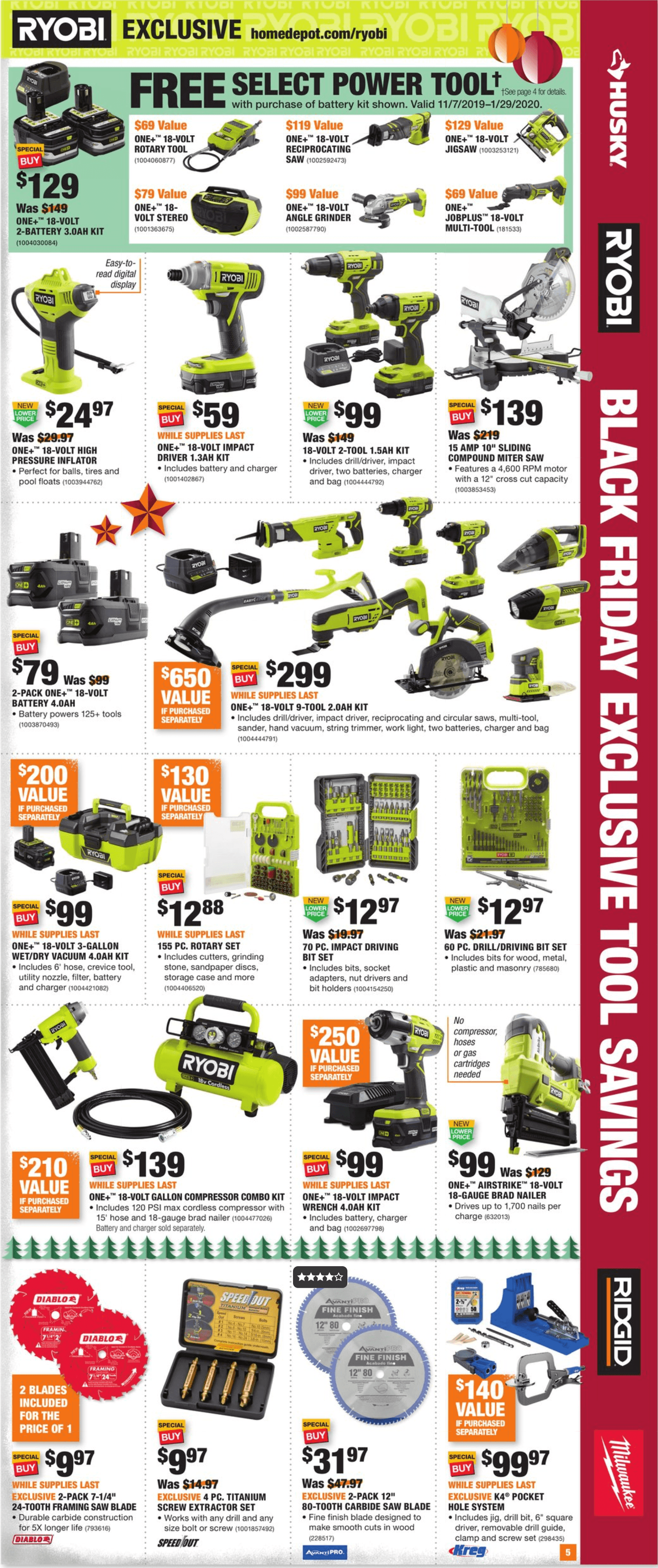 Home Depot Black Friday 2019 Page 5