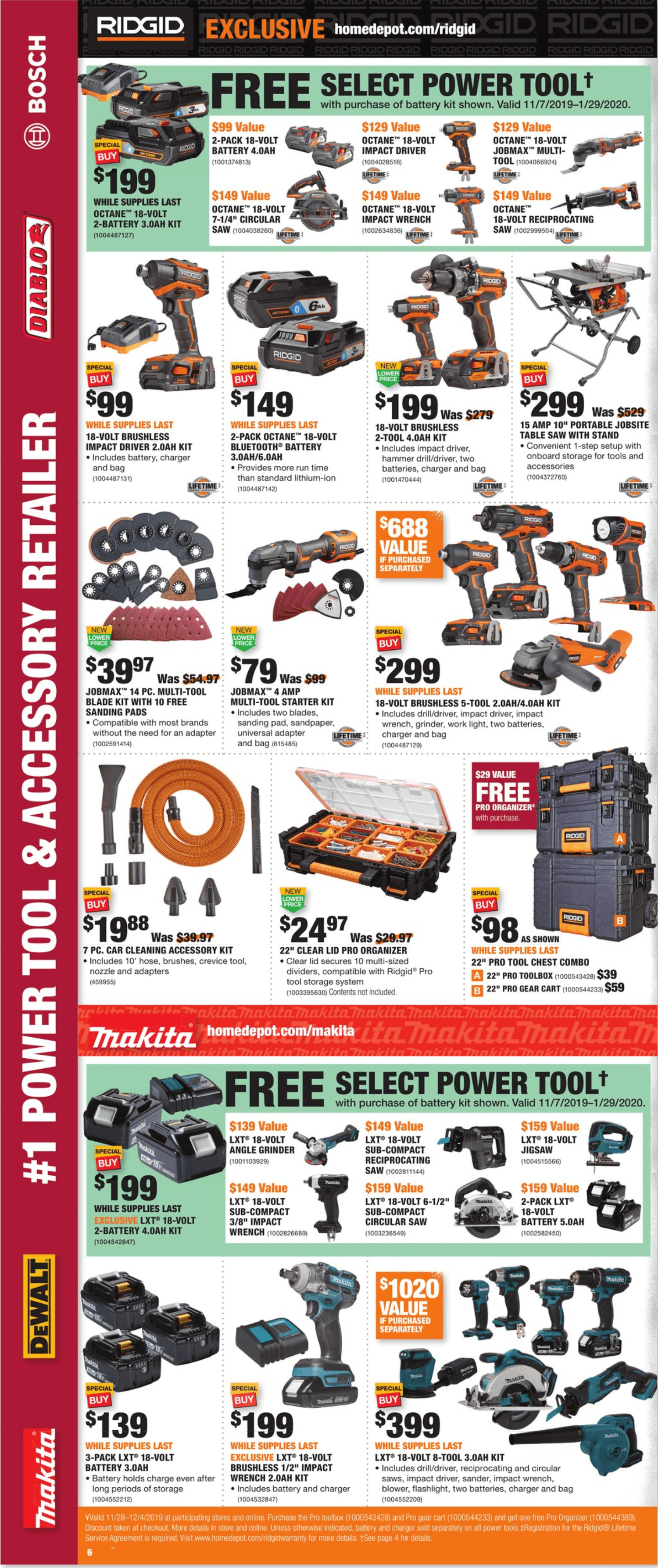 Home Depot Black Friday 2019 Page 6