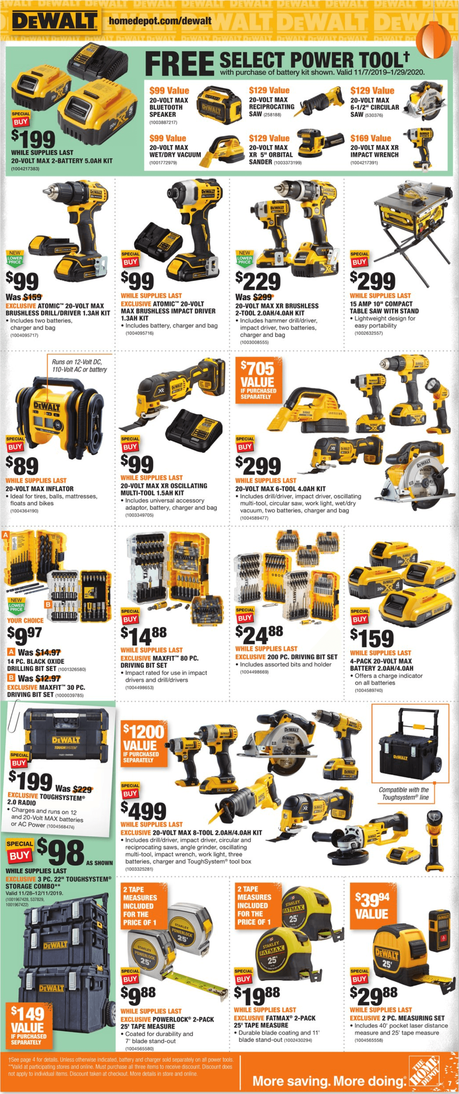 Home Depot Black Friday 2019 Page 7