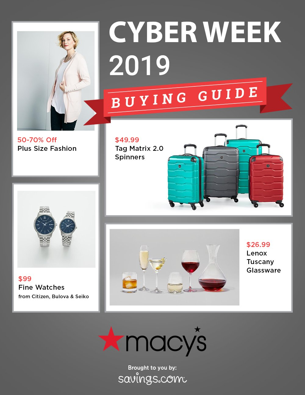 Macy's Cyber Week Buying Guide 2019 Page 2