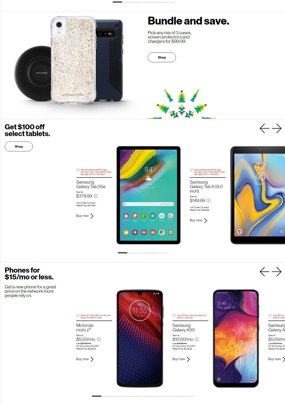 Verizon Wireless Black Friday 2019 Page 3