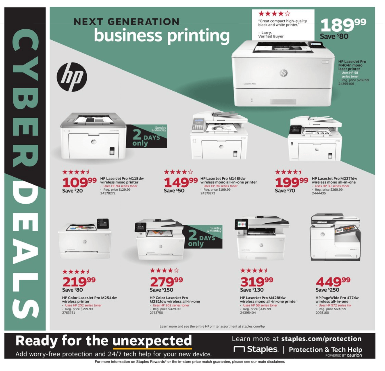Staples Cyber Monday 2019 Page 2