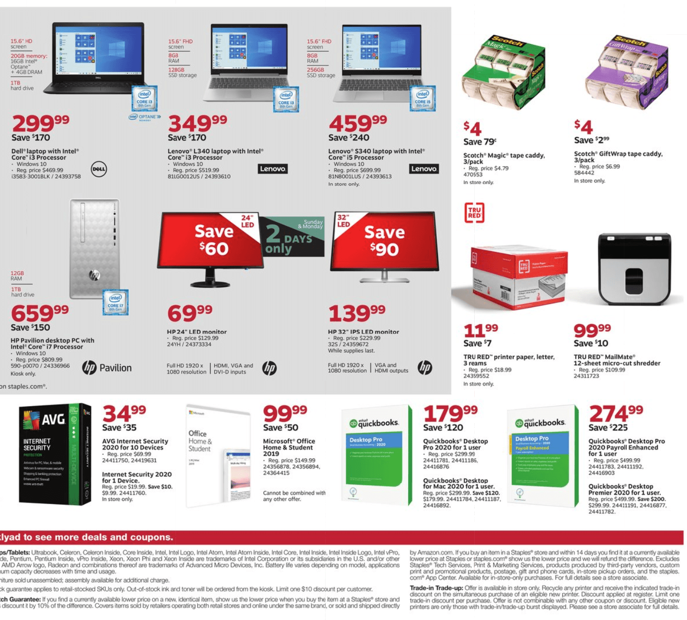 Staples Cyber Monday 2019 Page 5