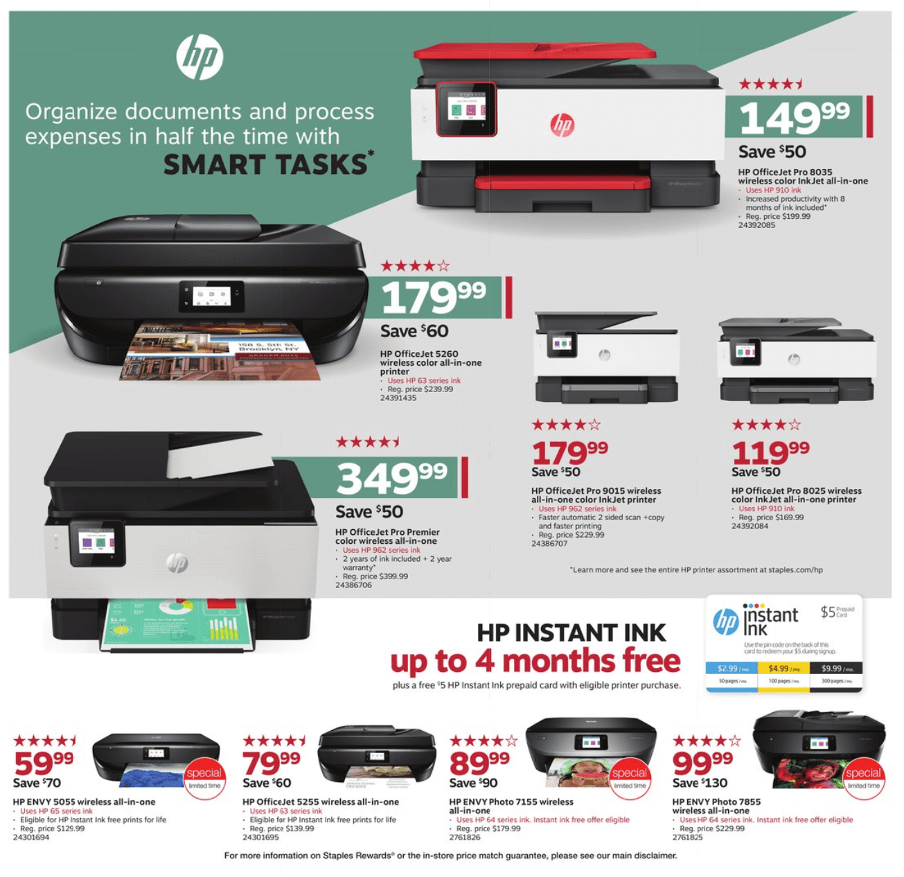 Staples Cyber Monday 2019 Page 6