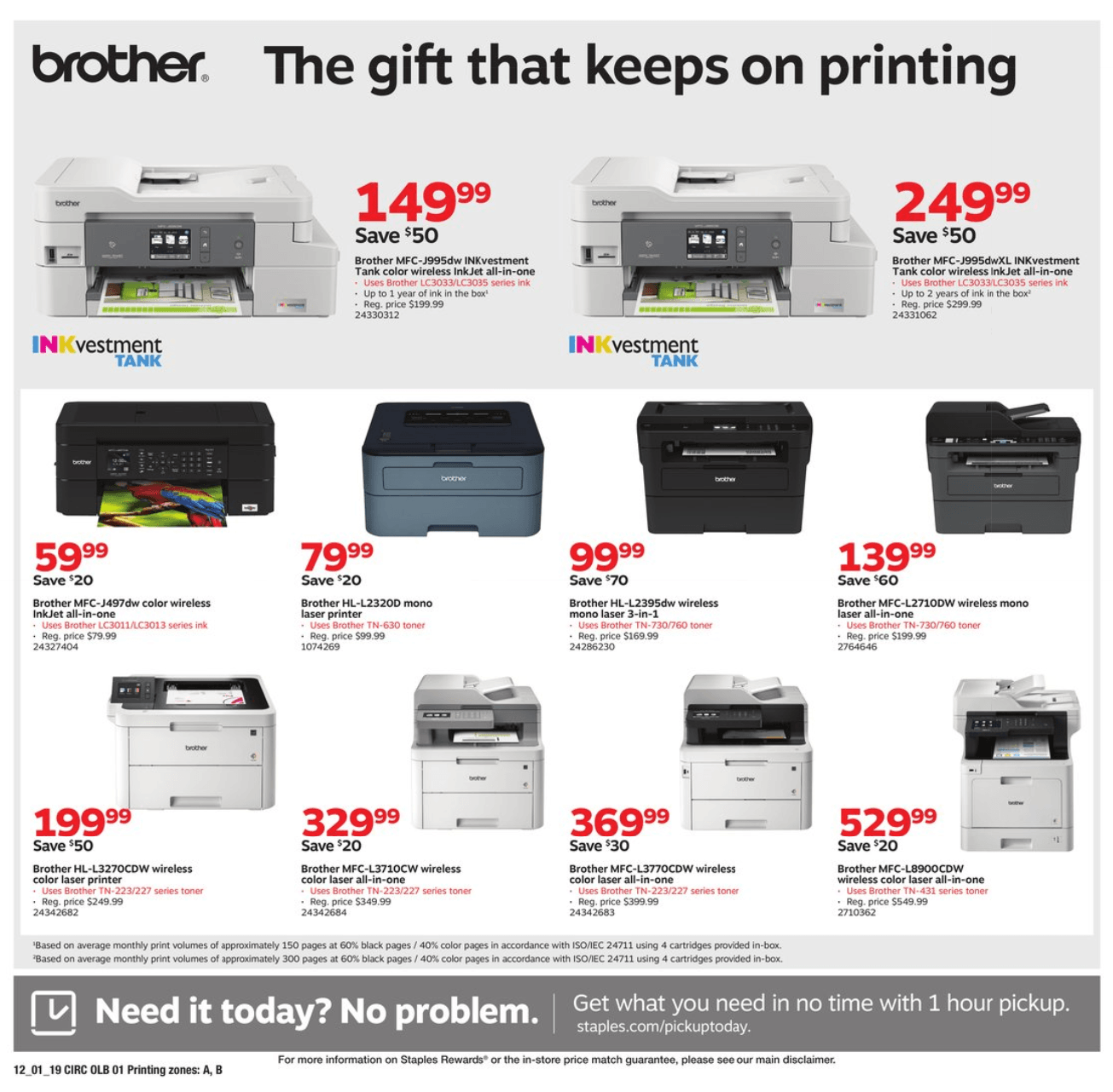 Staples Cyber Monday 2019 Page 9