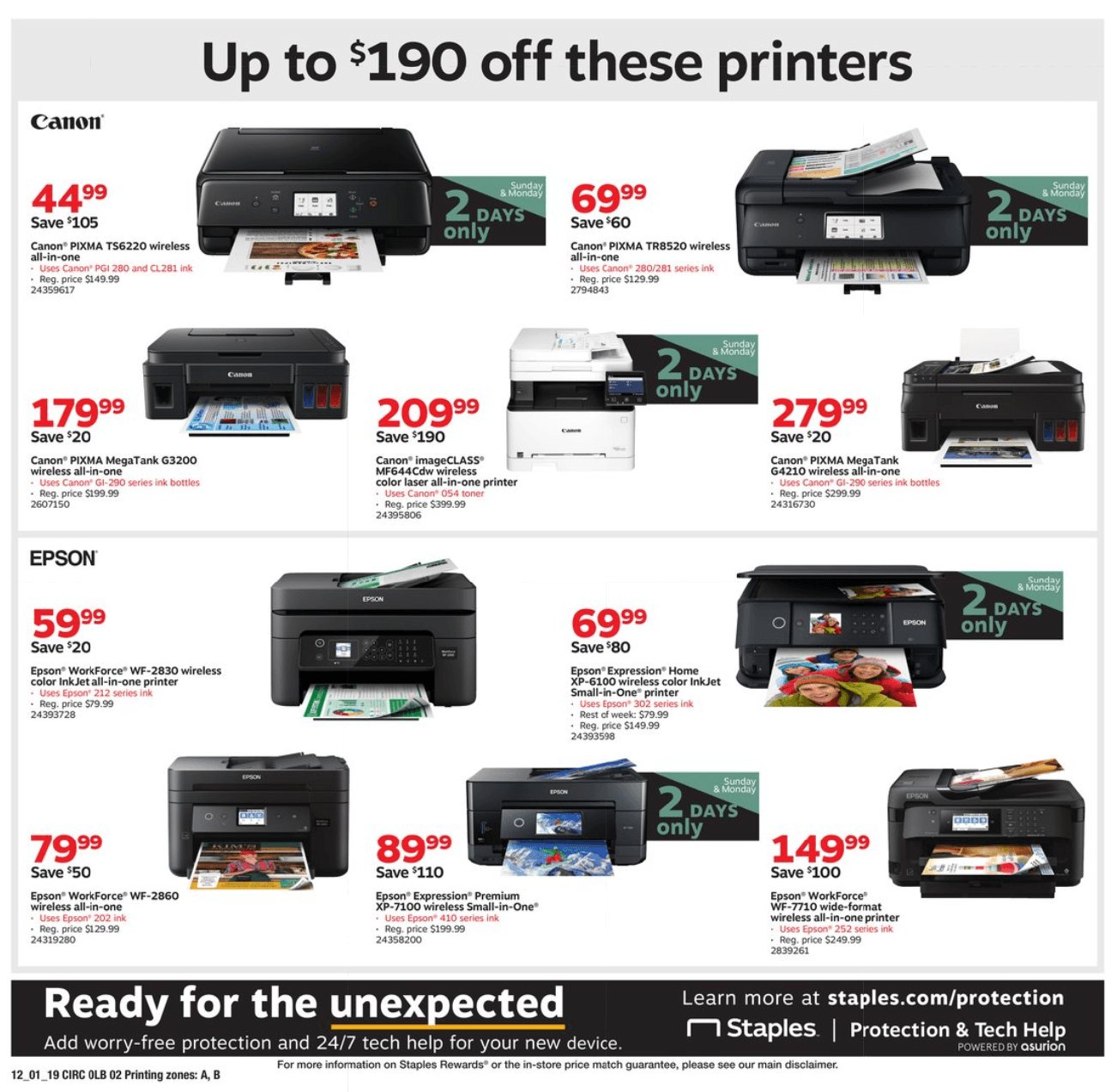 Staples Cyber Monday 2019 Page 10