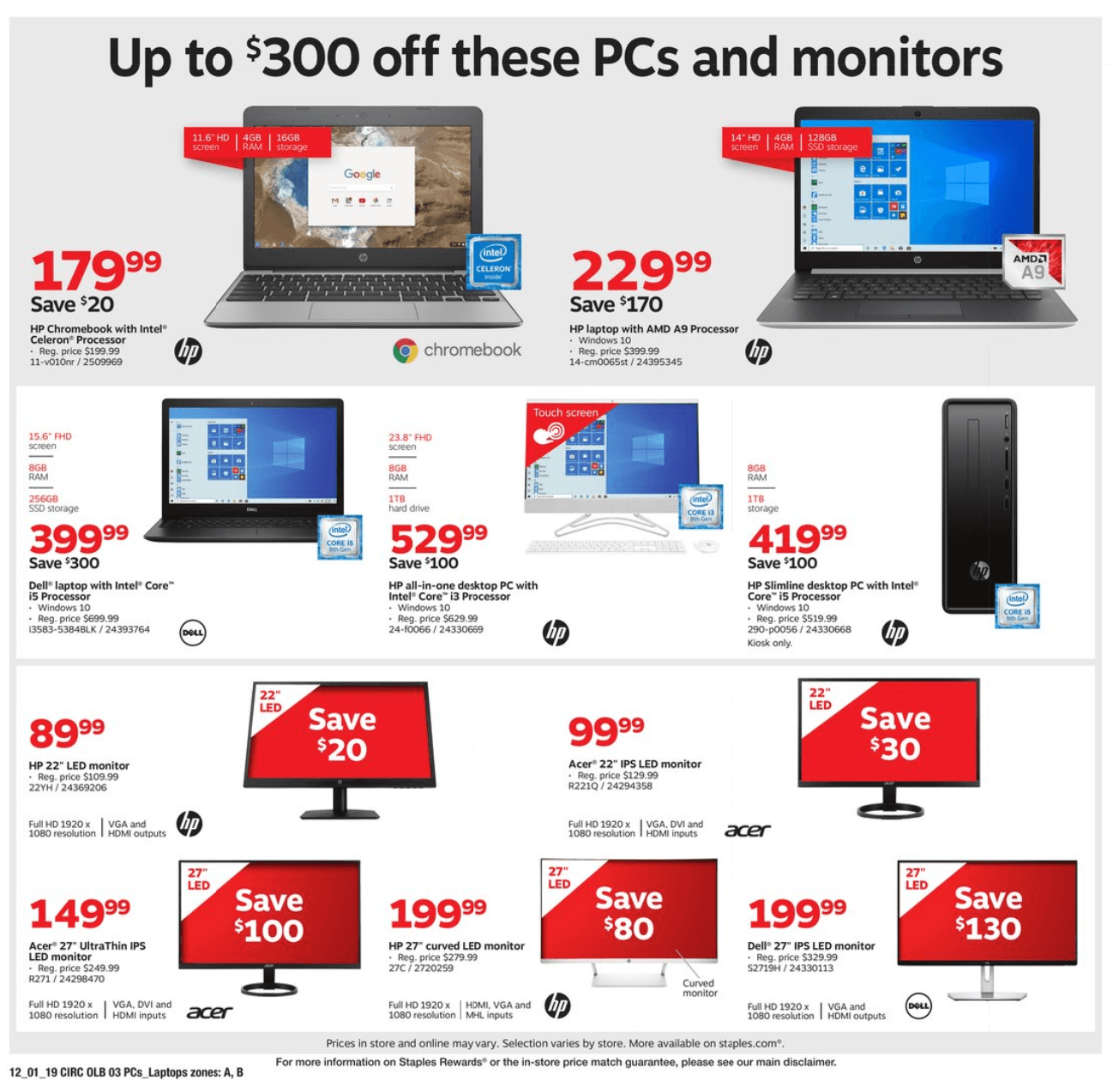 Staples Cyber Monday 2019 Page 11