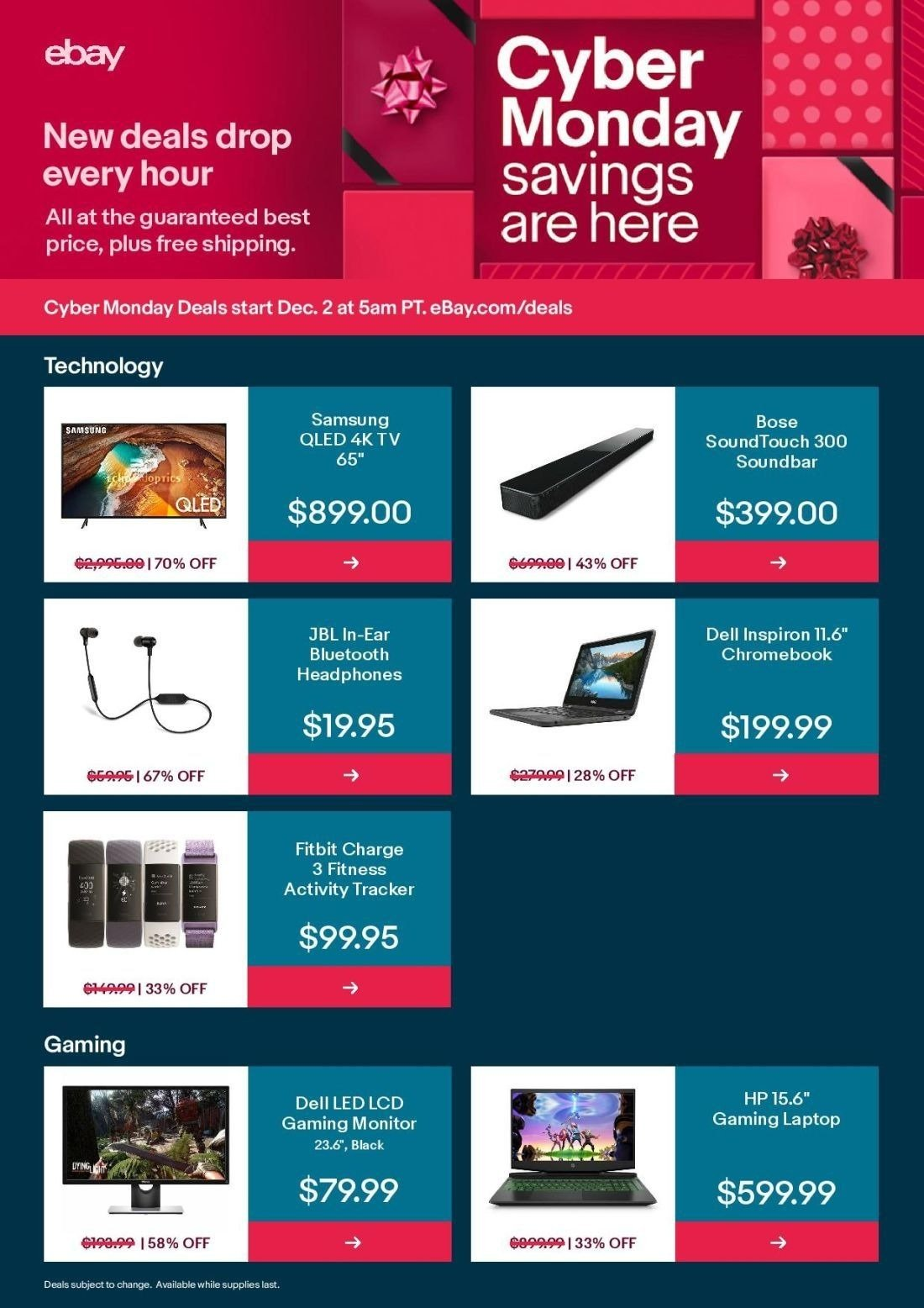 Ebay Cyber Monday 2019 Page 3