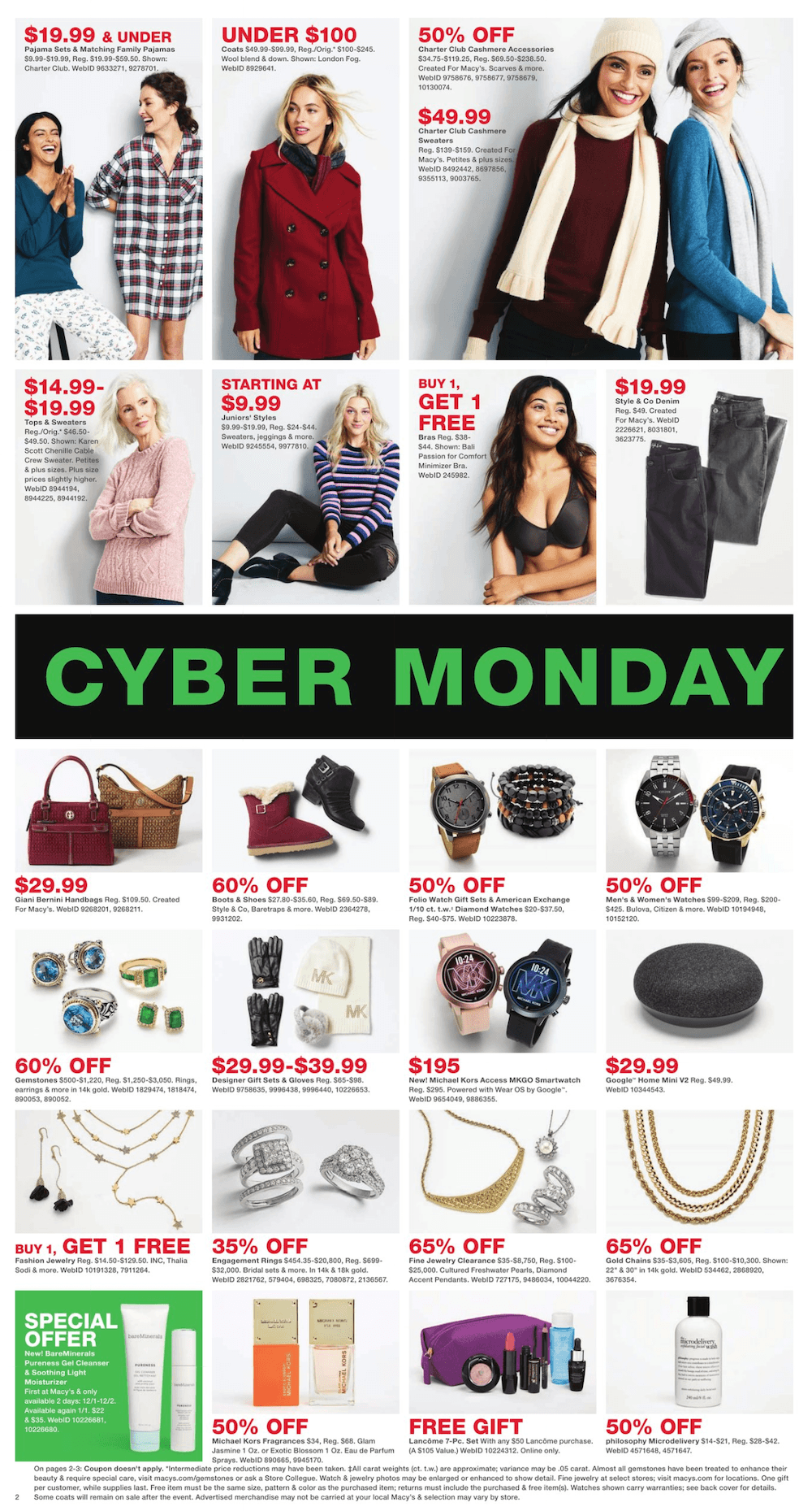 Macy's Cyber Monday 2019 Page 2