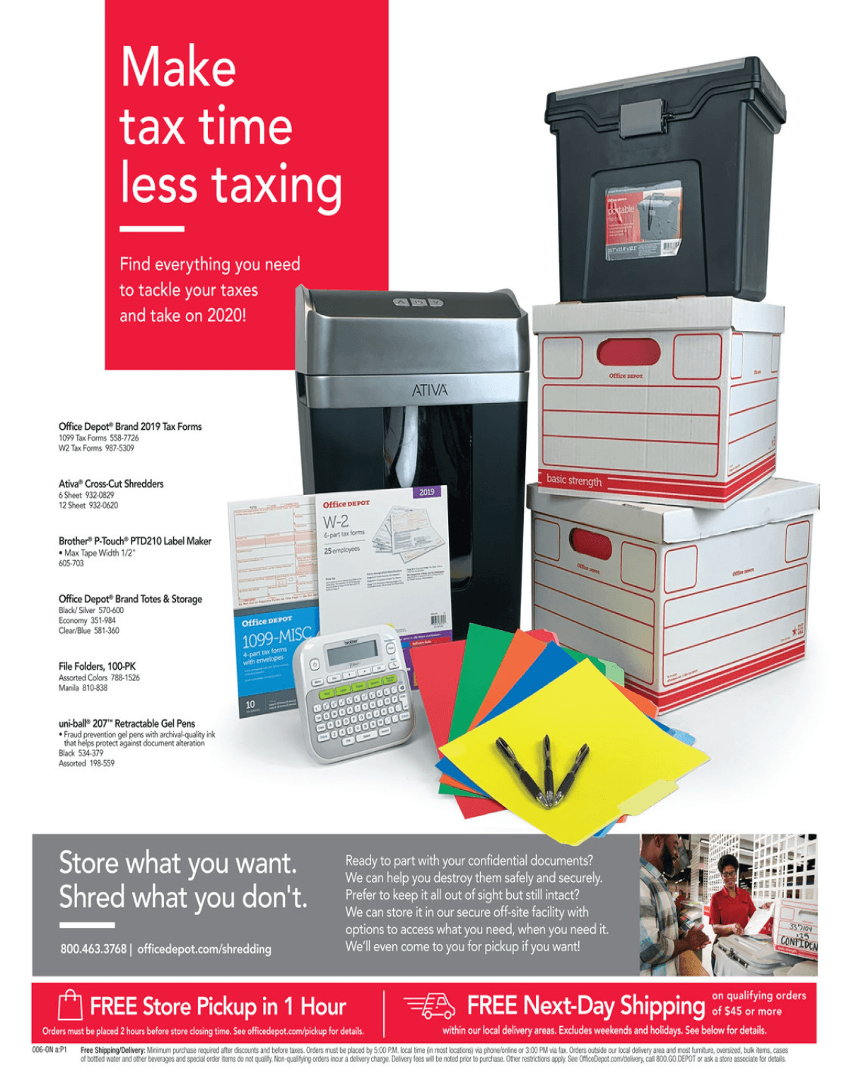 Office Depot and OfficeMax Cyber Monday 2019 Page 6