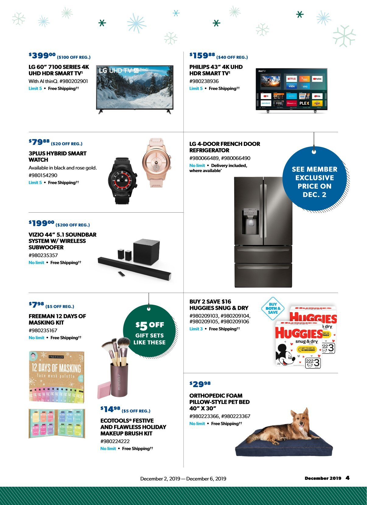 Sam's Club Cyber Monday 2019 Page 3