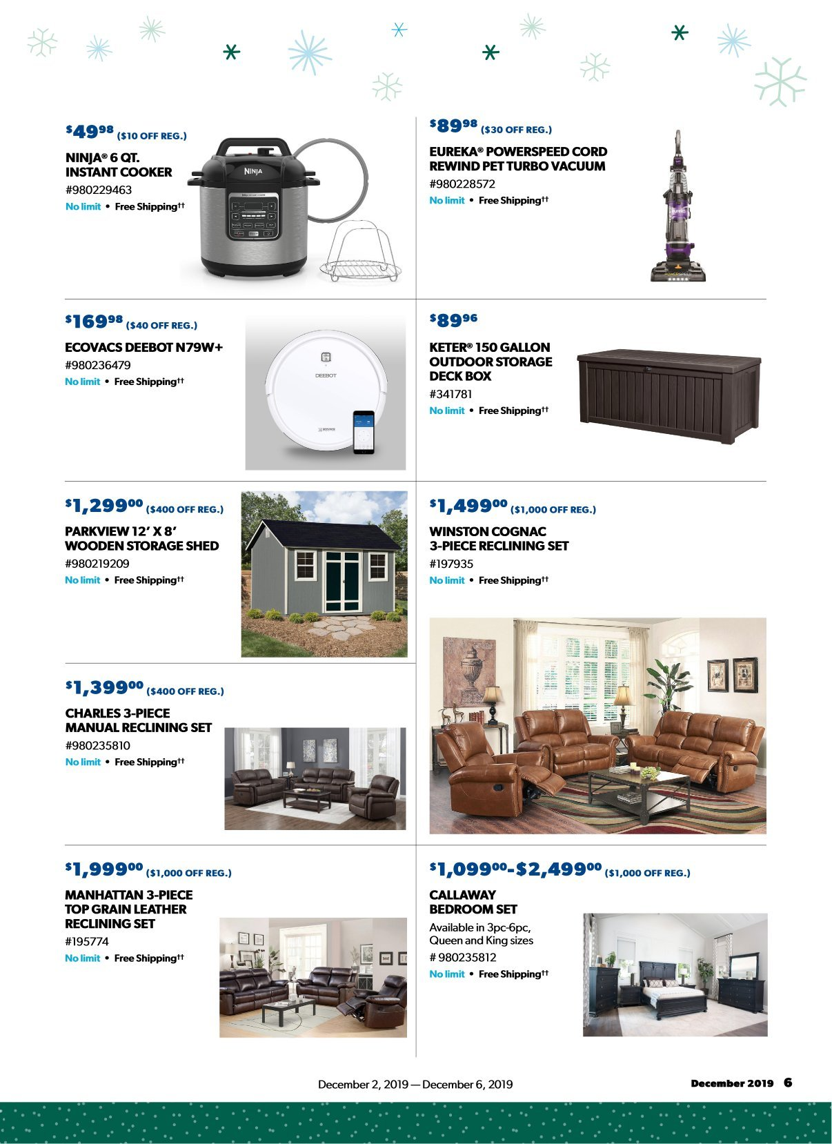 Sam's Club Cyber Monday 2019 Page 5