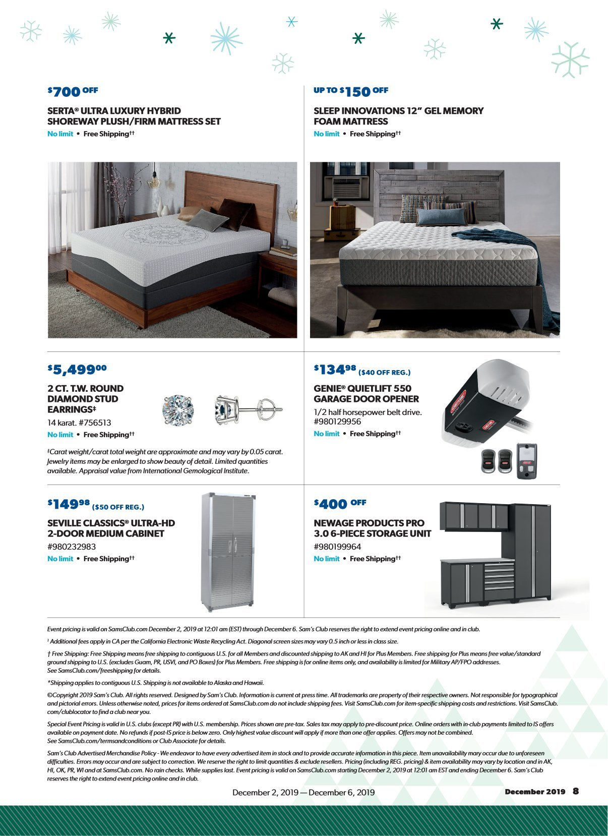 Sam's Club Cyber Monday 2019 Page 7
