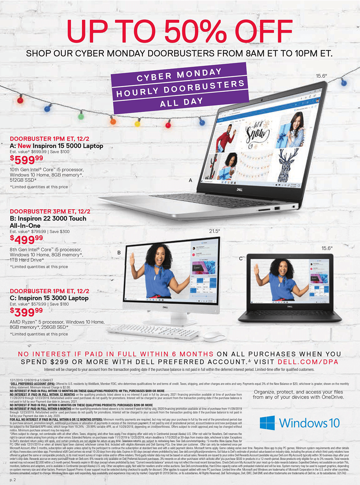 Dell Cyber Monday 2019 Page 2
