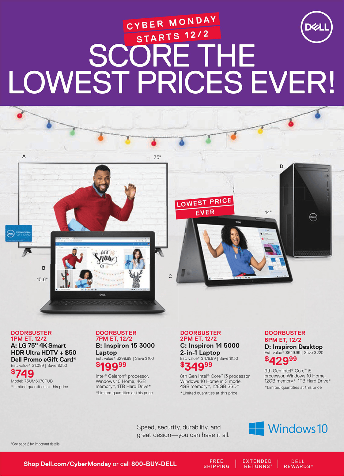 Dell Cyber Monday 2019 Page 4