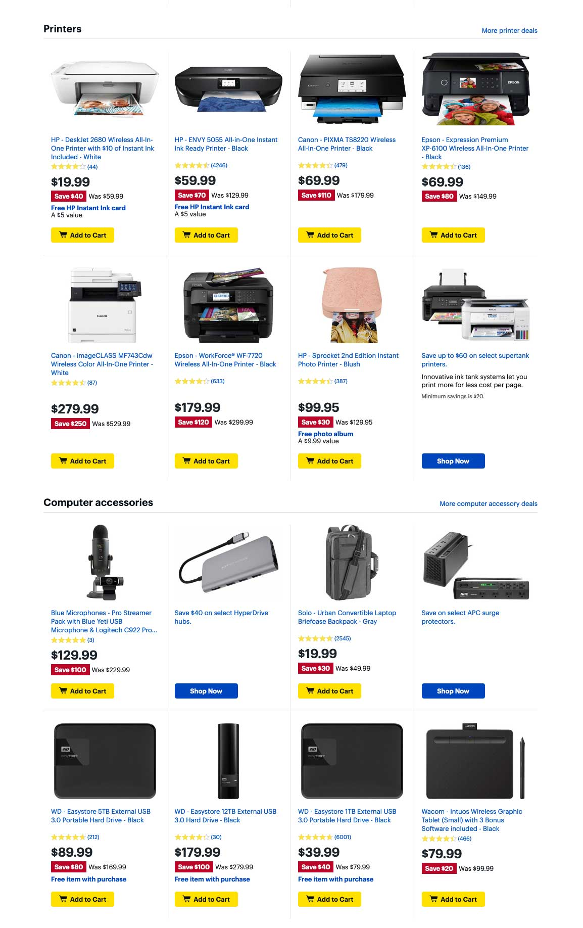 Best Buy Cyber Monday 2019 Page 6