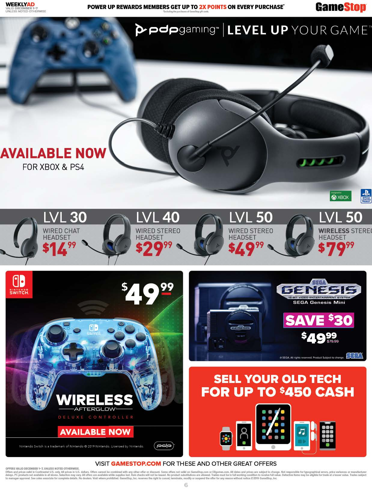 GameStop Cyber Monday 2019 Page 6