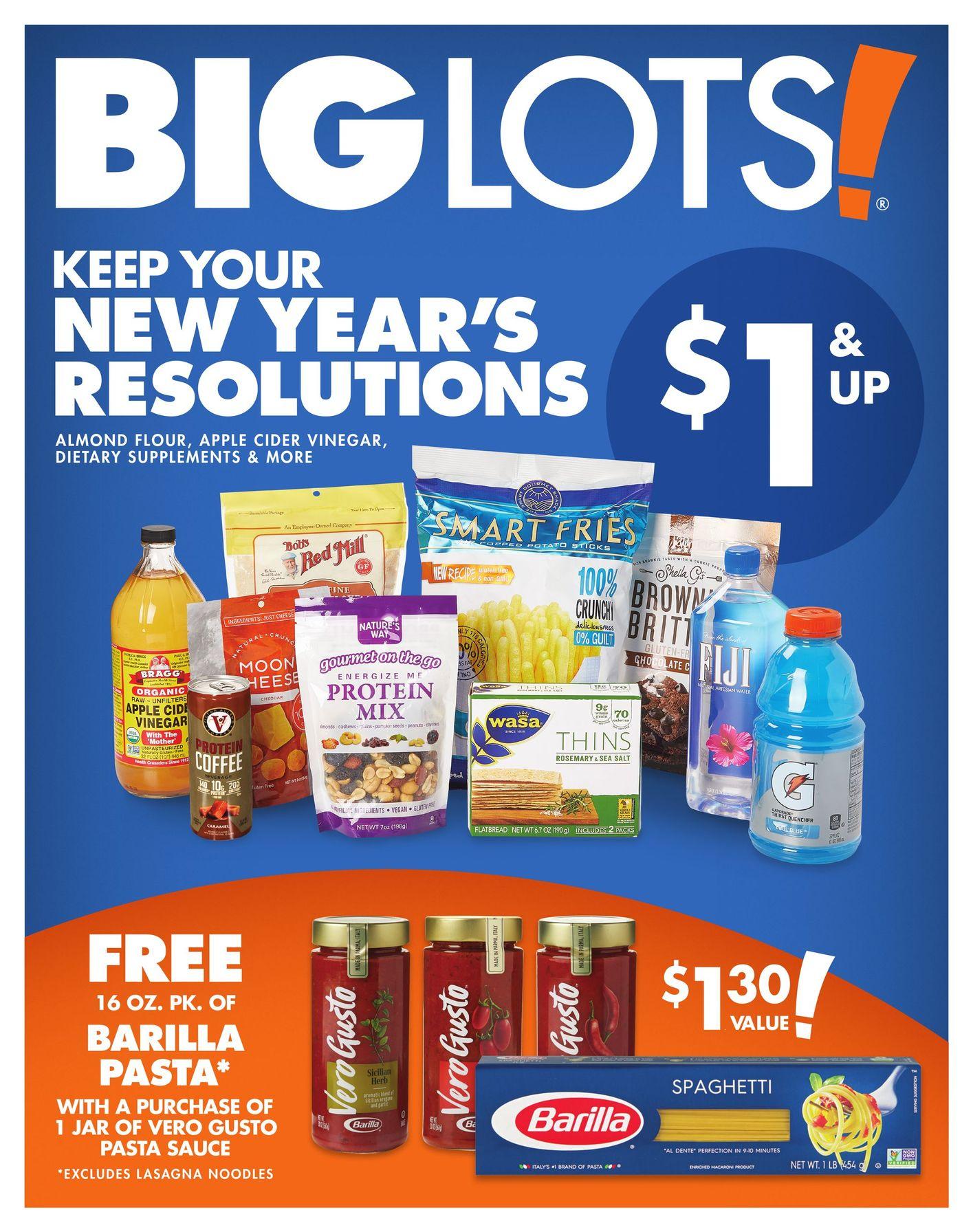 Big Lots January 4 - 17, 2020 Page 18