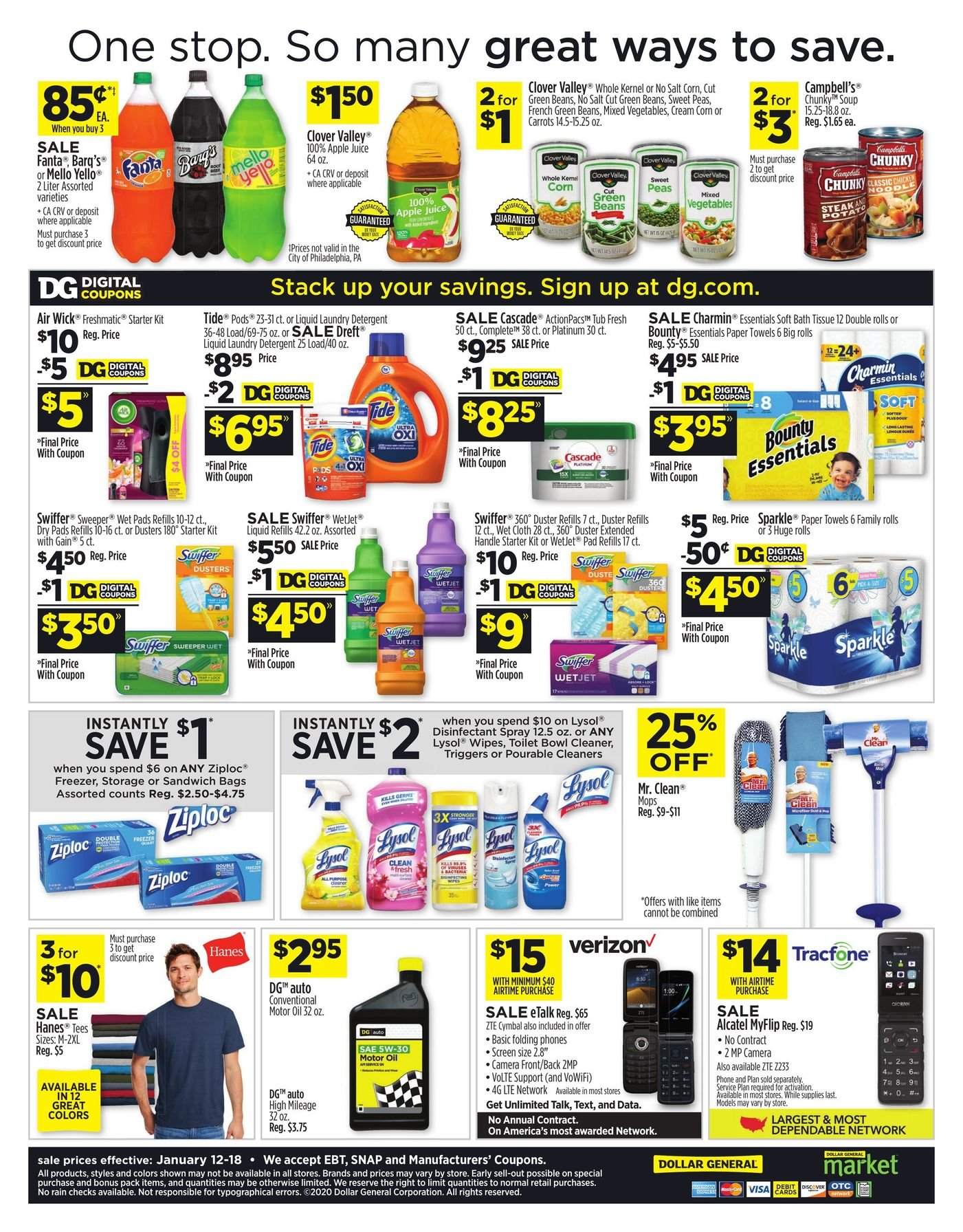 Dollar General Weekly January 12 - 18, 2020 Page 2