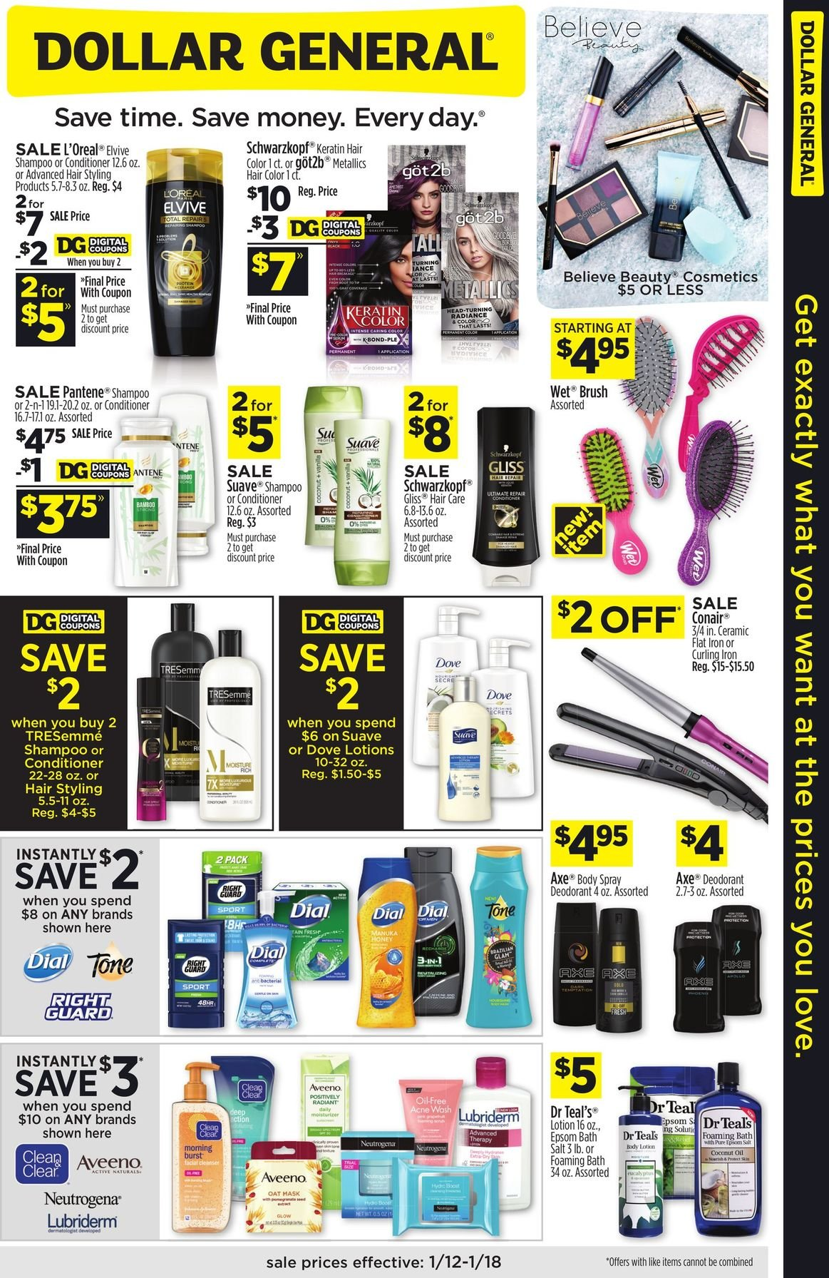 Dollar General Weekly January 12 - 18, 2020 Page 3