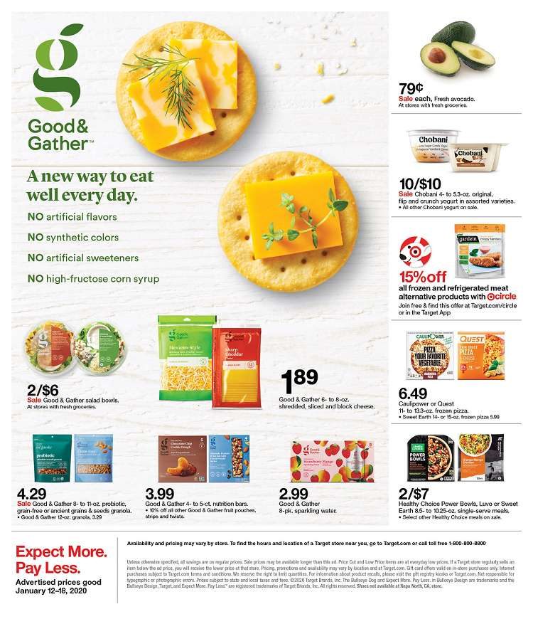 Target Weekly January 12 - 18, 2020 Page 23