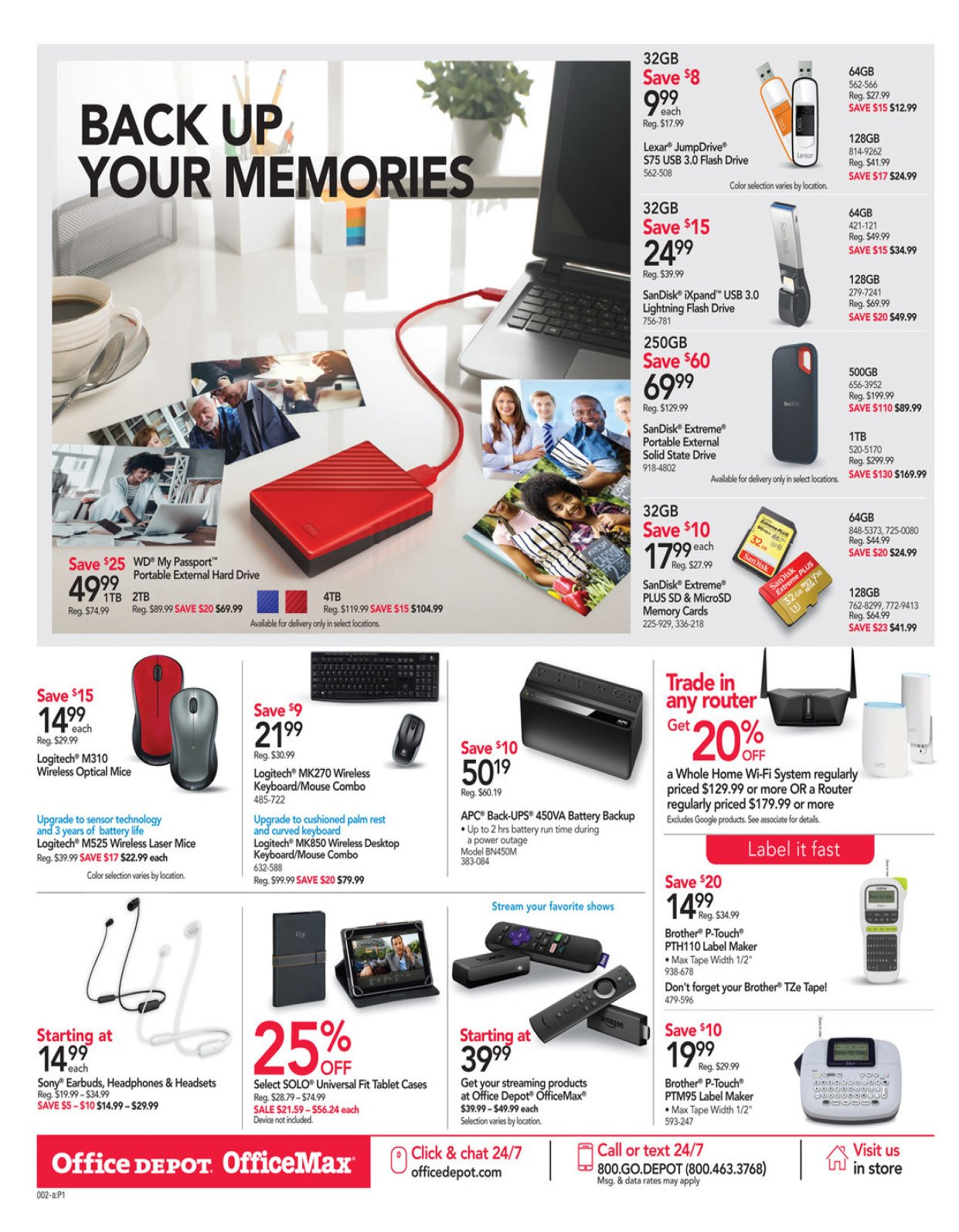 Office Depot and OfficeMax Weekly January 19 - 25, 2020 Page 3