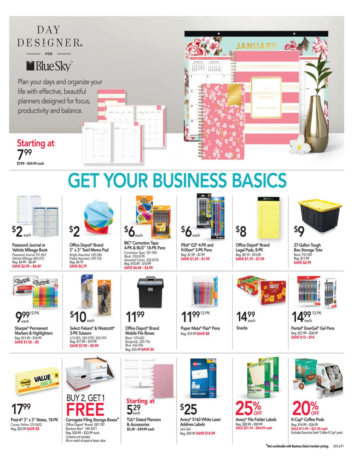 Office Depot and OfficeMax Weekly January 19 - 25, 2020 Page 4