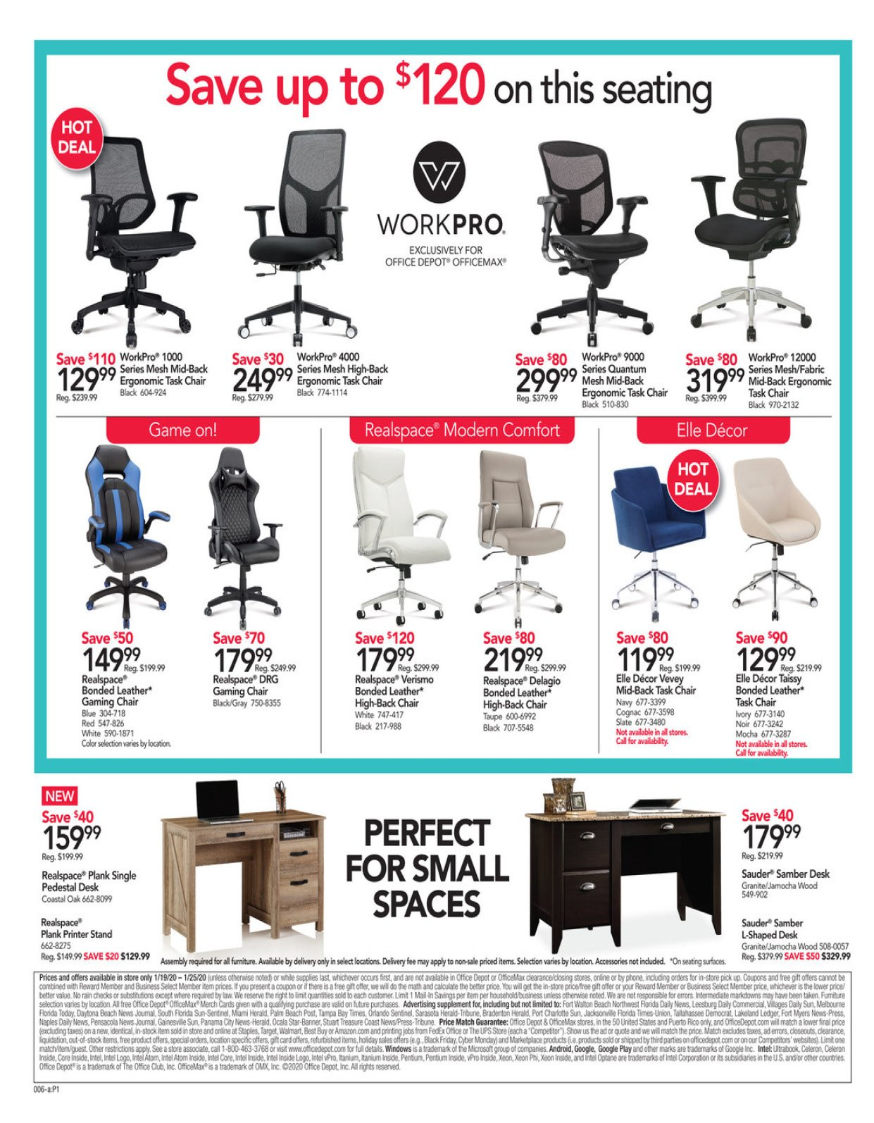 Office Depot and OfficeMax Weekly January 19 - 25, 2020 Page 7