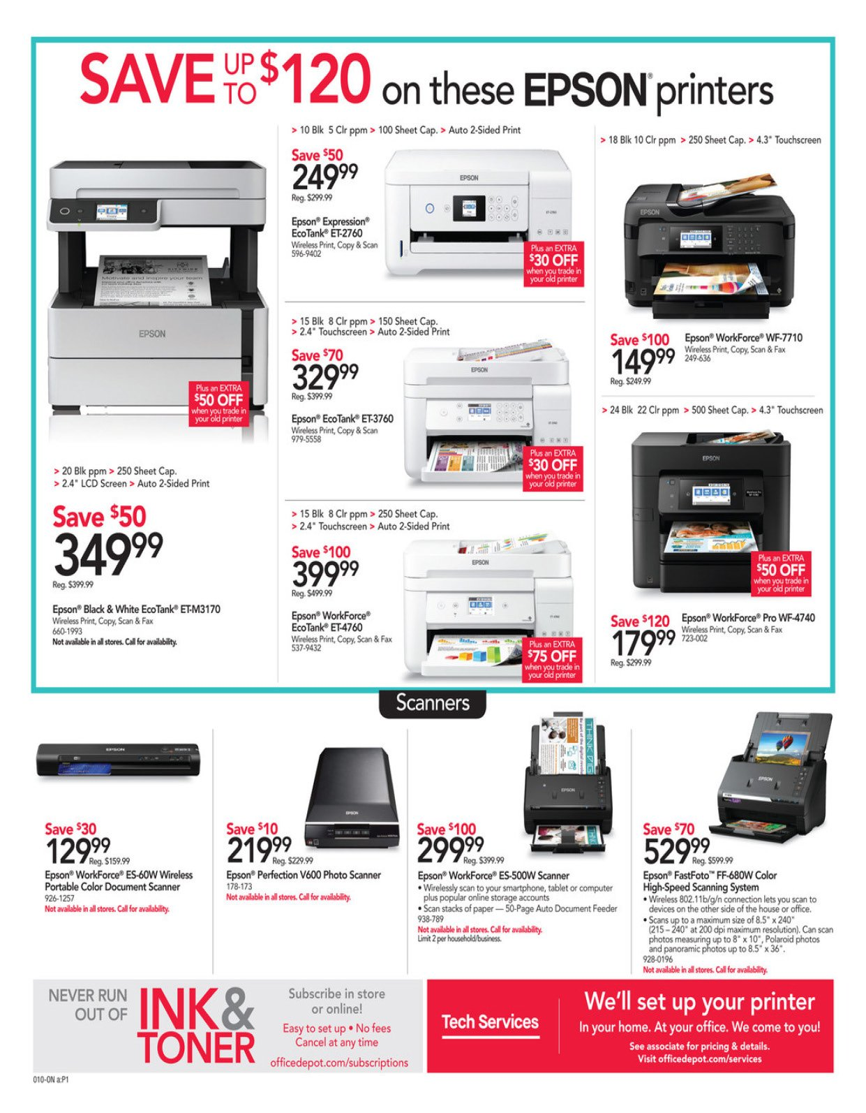 Office Depot and OfficeMax Weekly January 19 - 25, 2020 Page 10
