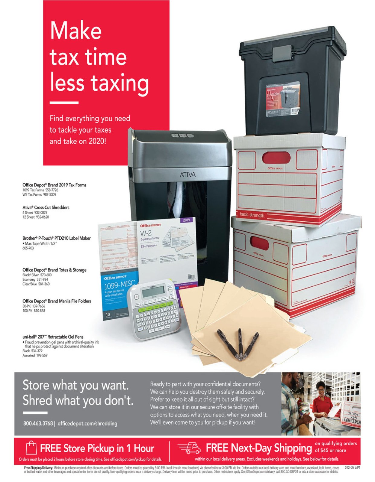 Office Depot and OfficeMax Weekly January 19 - 25, 2020 Page 13
