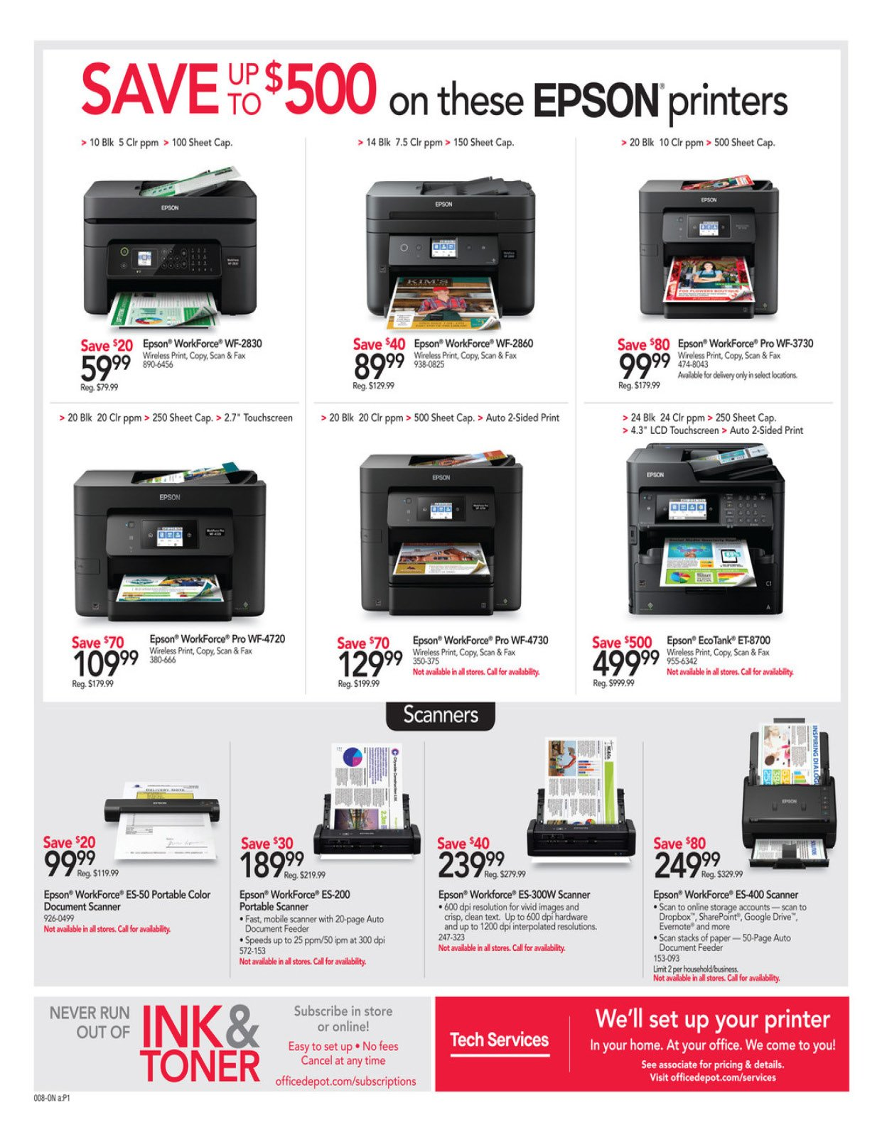 Office Depot and OfficeMax Weekly February 16 - 22, 2020 Page 8