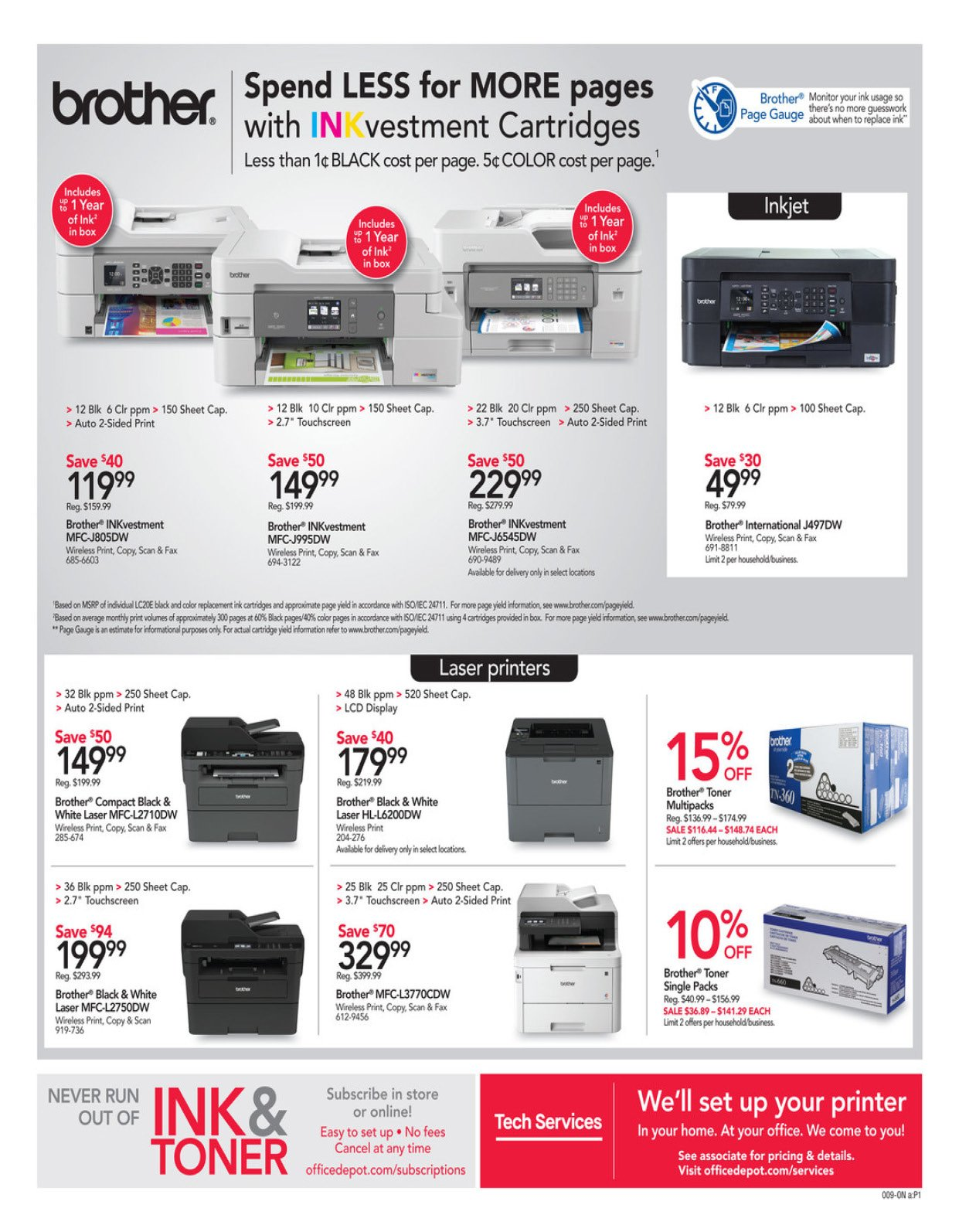 Office Depot and OfficeMax Weekly February 16 - 22, 2020 Page 9