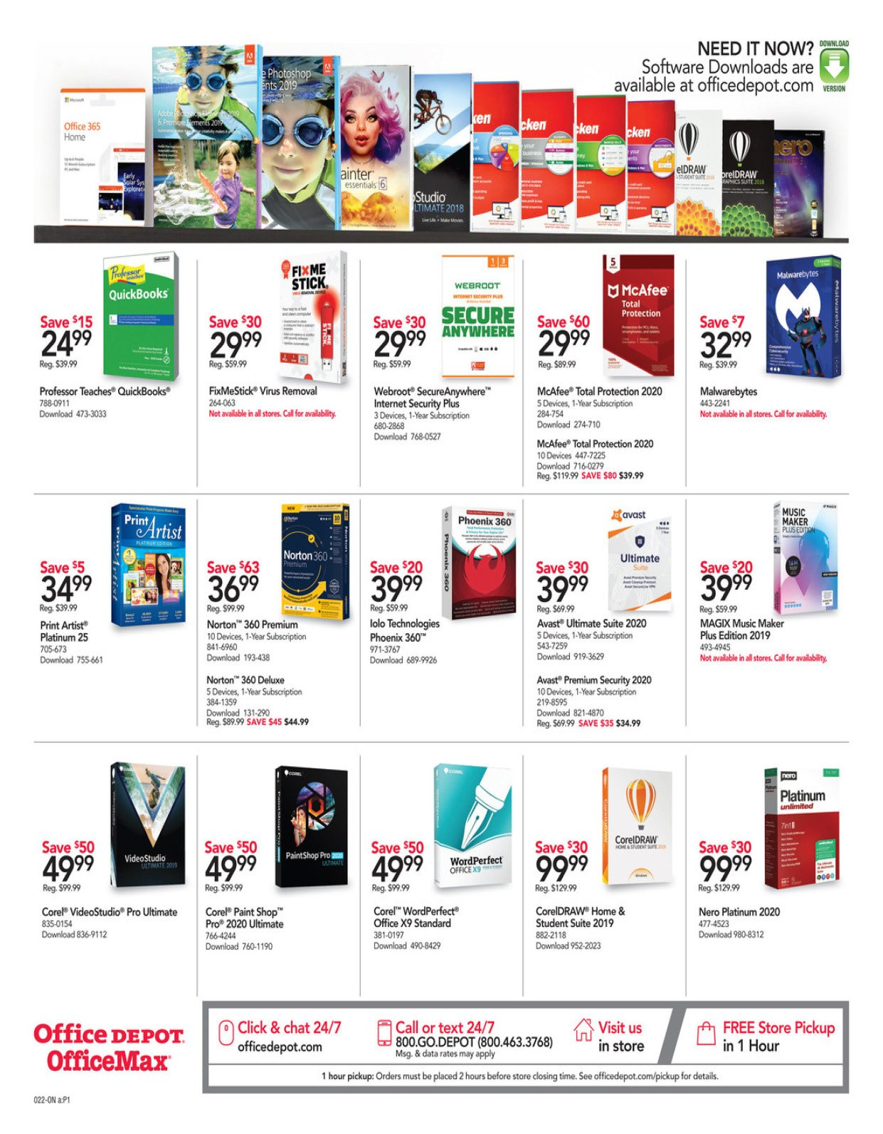 Office Depot and OfficeMax Weekly February 16 - 22, 2020 Page 22