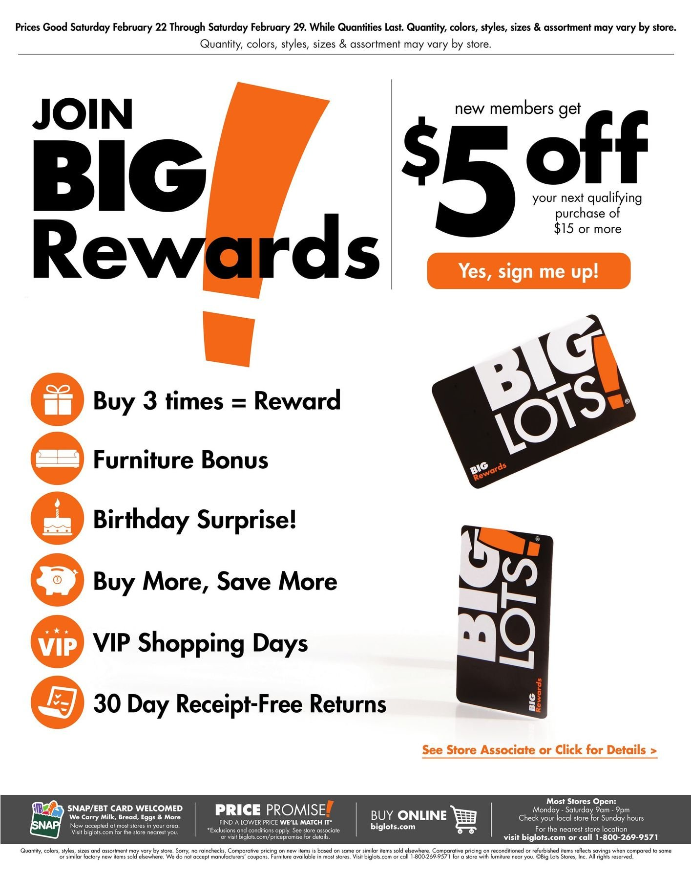 Big Lots Weekly February 22 - 29, 2020 Page 16
