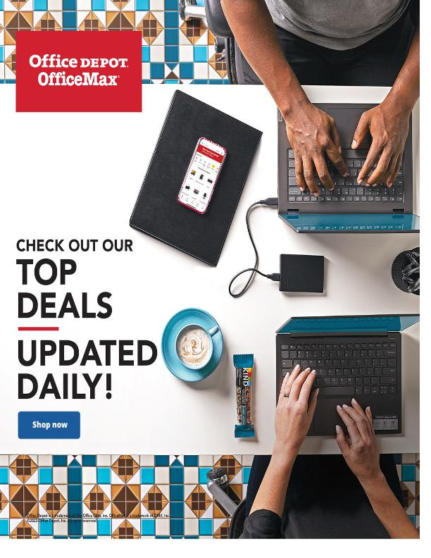 Office Depot and OfficeMax Weekly March 8 - 21, 2020 Page 1