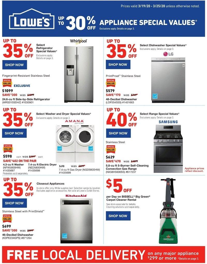 Lowe S Weekly March 19 25 2020 Ad Savings Com