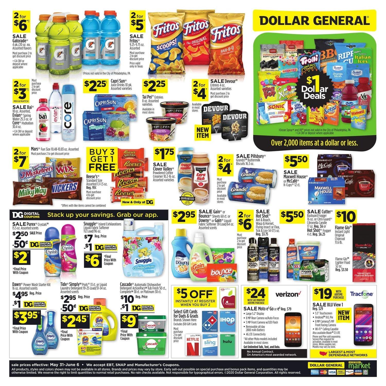 Dollar General Weekly May 31 - June 6, 2020 Page 2