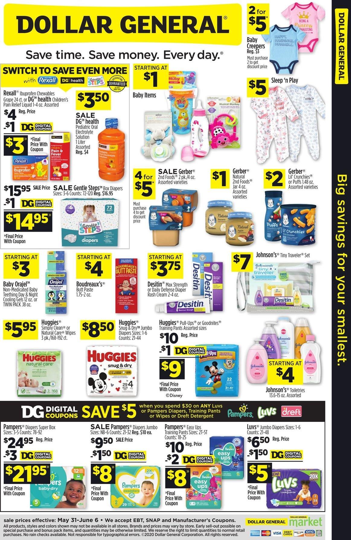 Dollar General Weekly May 31 - June 6, 2020 Page 5