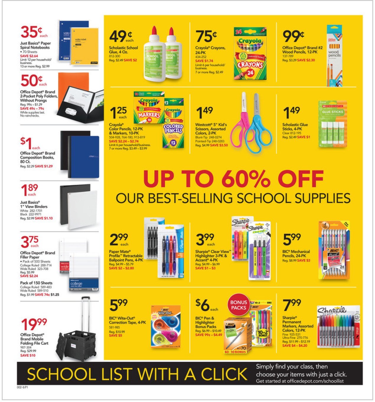 Office Depot and OfficeMax Weekly August 9 - 15, 2020 Page 2