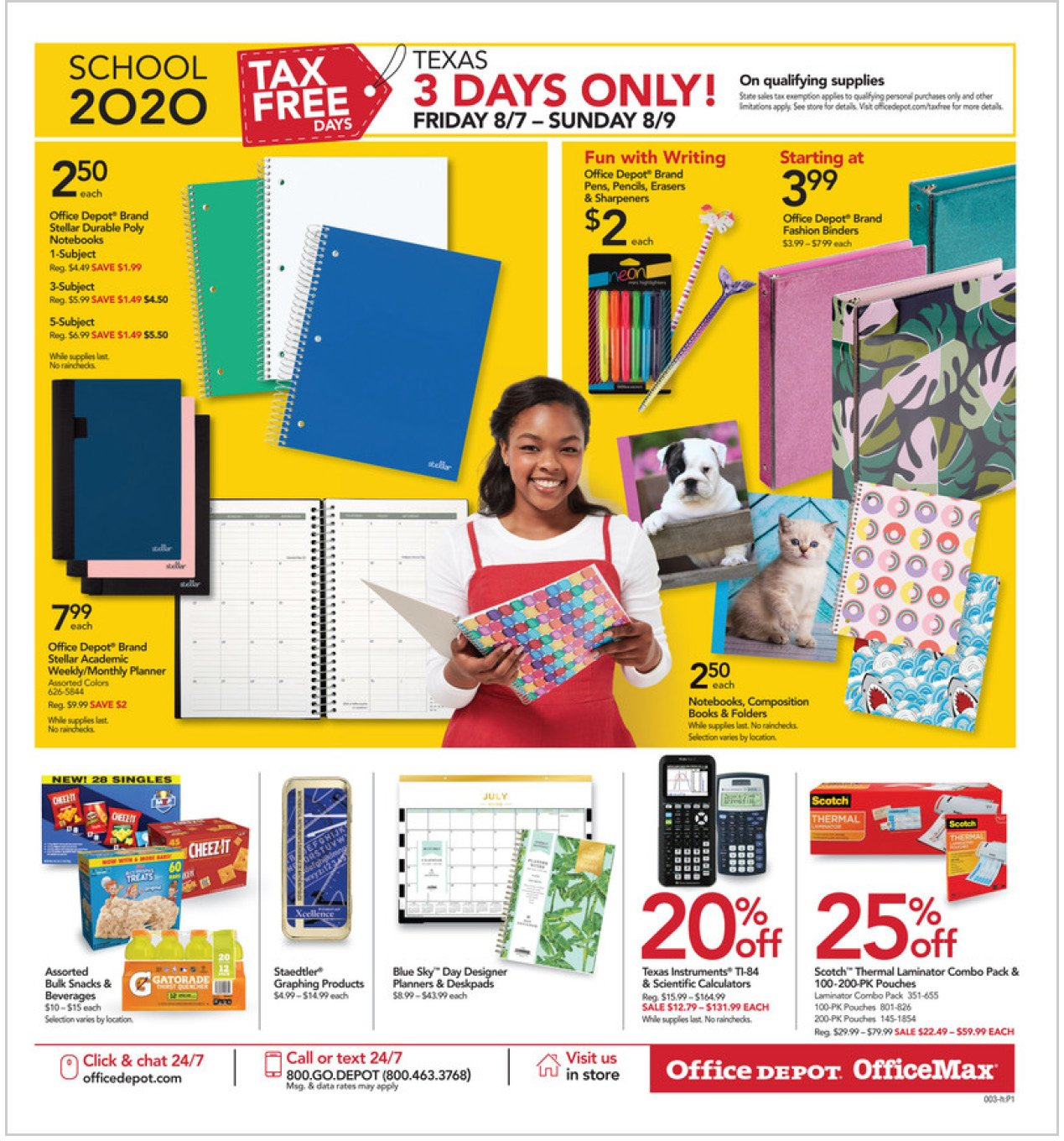 Office Depot and OfficeMax Weekly August 9 - 15, 2020 Page 3
