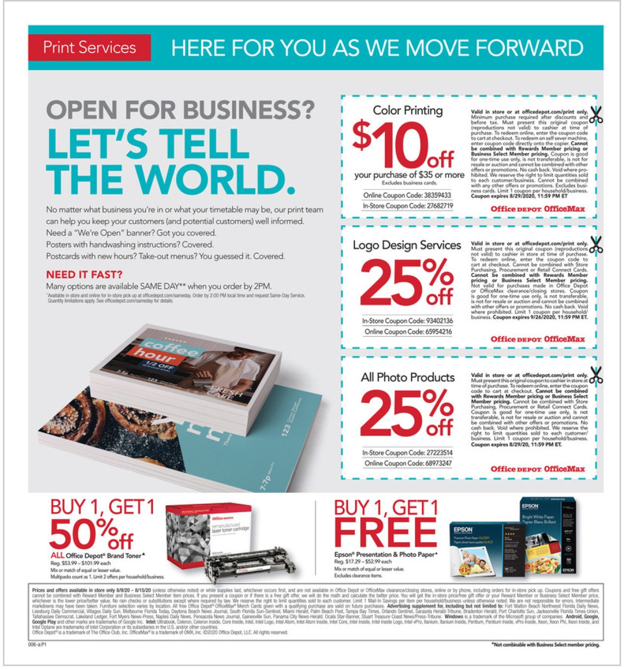 Office Depot and OfficeMax Weekly August 9 - 15, 2020 Page 6